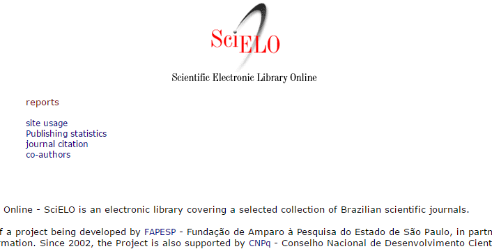 Scientific Electronic Library Online (SCIELO)